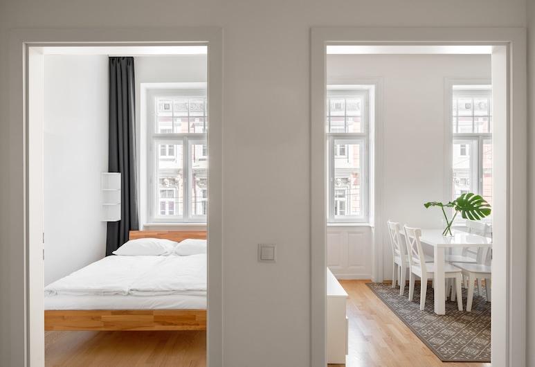 Strauss Apartments, Viena, Apartamento exclusivo, 1 cama de casal com sofá-cama, Vista para a cidade