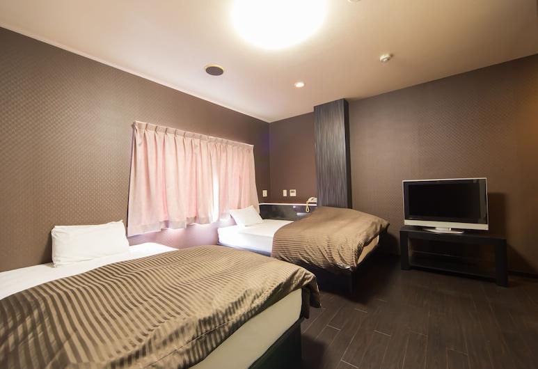 ホテル ブルー , 大阪市, エグゼクティブ ツインルーム 禁煙 シティビュー, 部屋