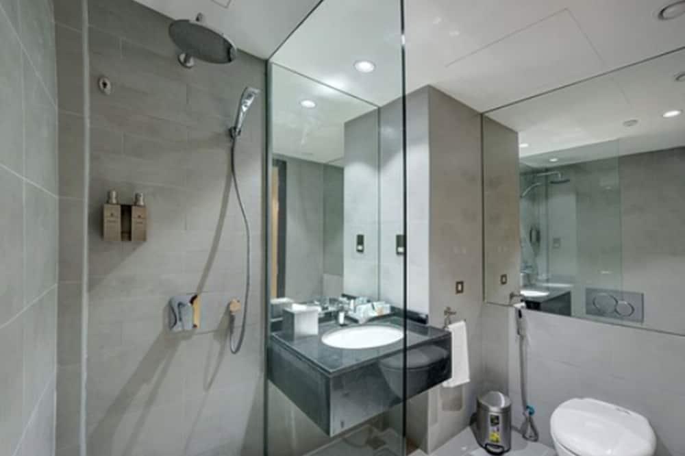 Standard-Doppel- oder -Zweibettzimmer, Nichtraucher - Badezimmer