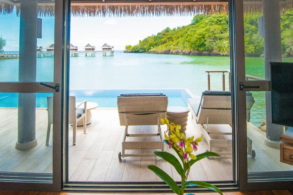 Lagoon view Pool Villa - Living Area
