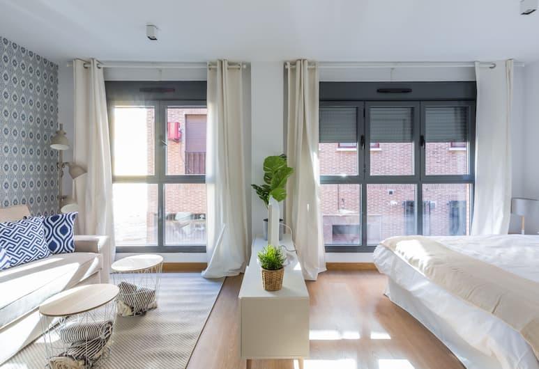 Horoko Apartments, Madrid, Comfort-studiolejlighed, Værelse
