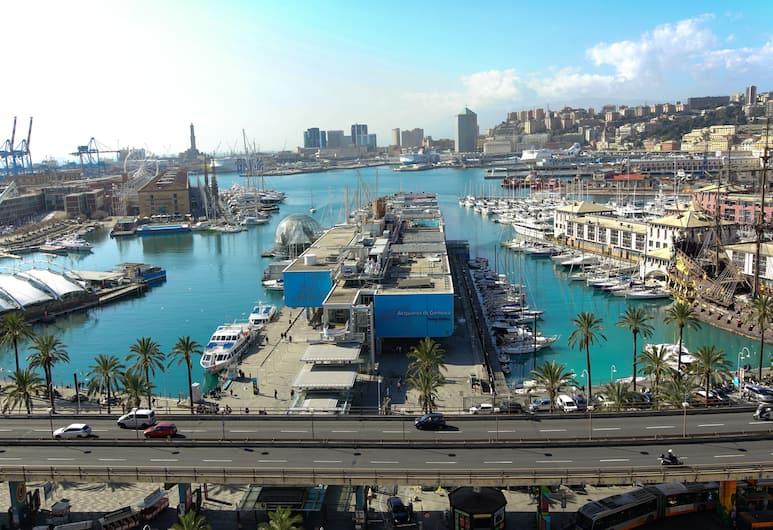 Bluripa Guest House, Genova, Eenvoudige kamer, 1 queensize bed, niet-roken, uitzicht op jachthaven, Uitzicht vanaf kamer