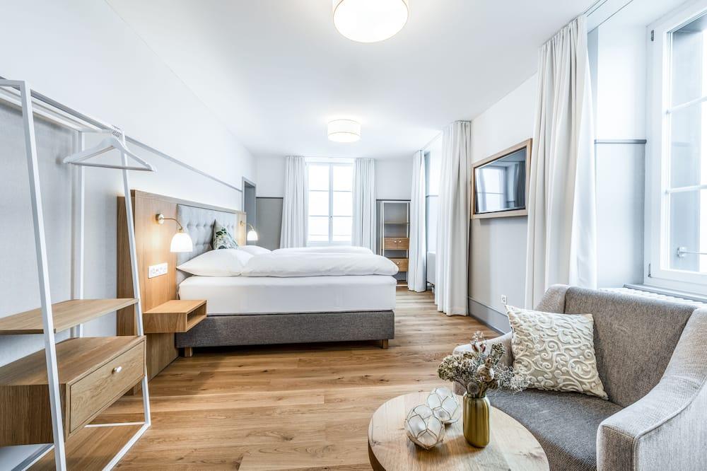 Suite Premium, 1 Tempat Tidur Queen dengan tempat tidur Sofa, pemandangan lembah - Kamar Tamu