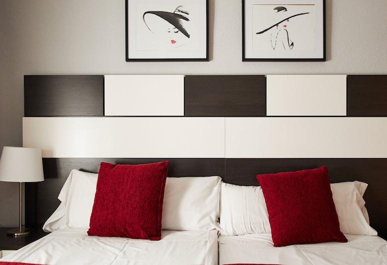 Alcam Valencia II, Barcelona, Štandardný apartmán, 2 spálne, nefajčiarska izba, Izba