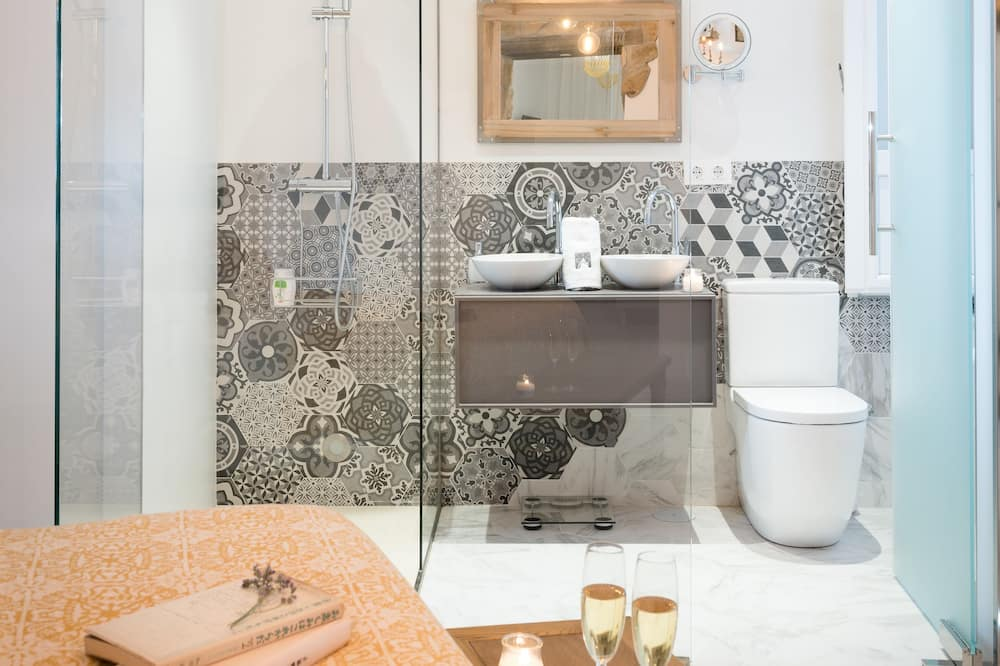浪漫公寓, 1 間臥室, 地面 - 浴室