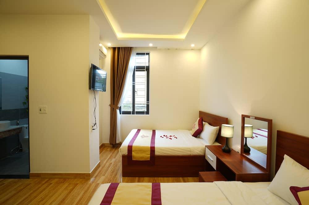 Familien-Doppelzimmer - Wohnzimmer