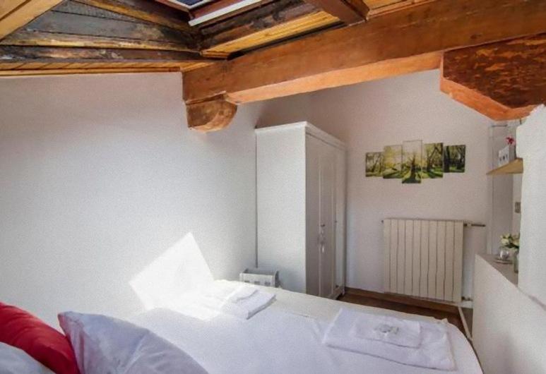 Tourist House Attic Bologna, Bologna, Appartamento, 1 letto queen con divano letto, non fumatori, Camera