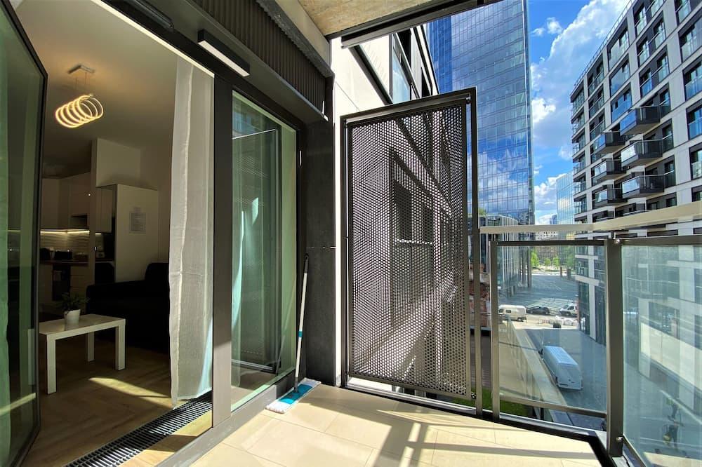 Pagerinto tipo apartamentai, 1 miegamasis - Terasa / vidinis kiemas