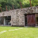 Classic dubbelrum - Utsikt mot trädgården