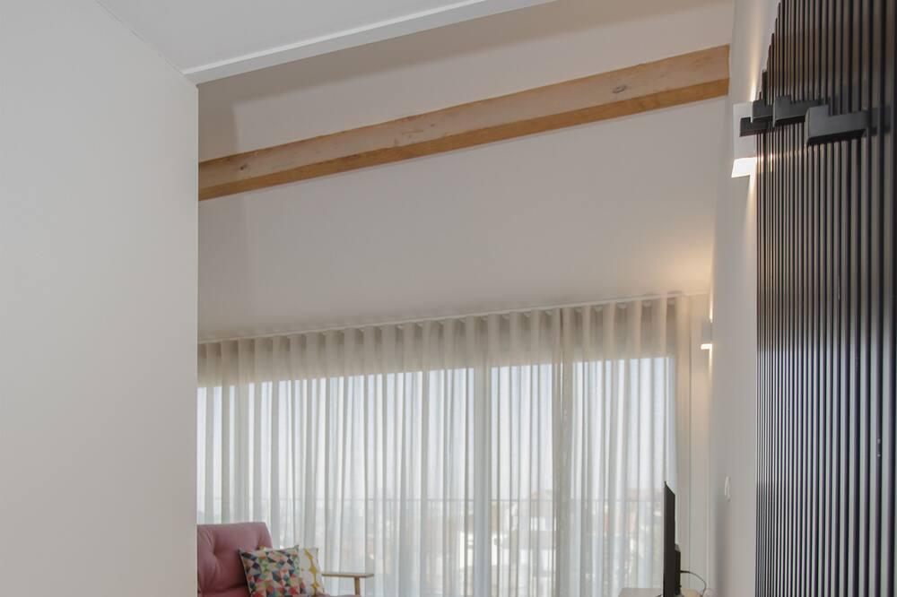 apartman, erkély - Nappali