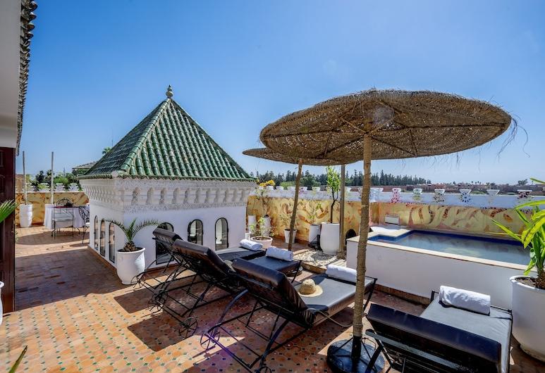克赫靈魂庭院精品 SPA 酒店, 馬拉喀什, 天台泳池