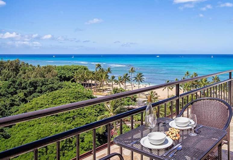 Douglas Waikiki Grand, Honolulu, Terrasse/Patio