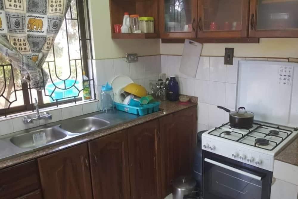 双人房, 私人浴室 - 共用厨房
