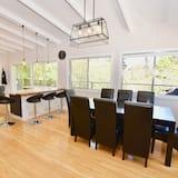 Dom Deluxe, 3 sypialnie, kuchnia, widok na ogród - Powierzchnia mieszkalna