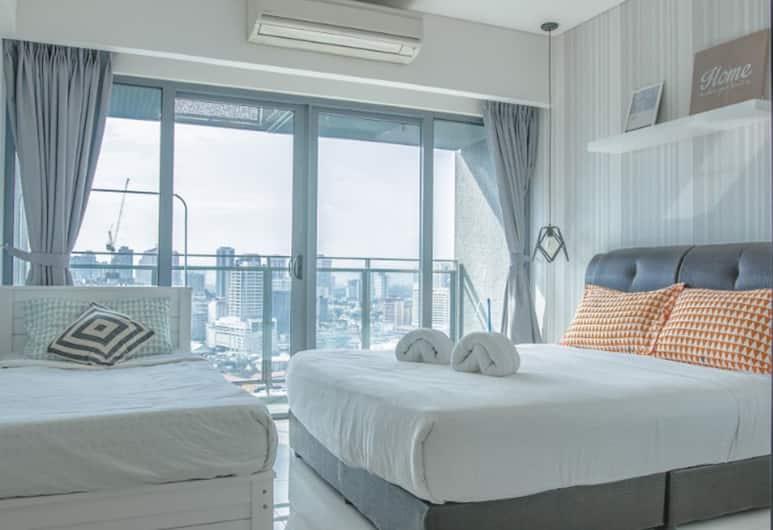 Mercu Summer Suites KLCC by Feel Homes, Kuala Lumpur, Suite, 2 kamar tidur (Premium), Kamar Tamu