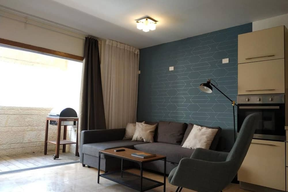 Apartmán typu Deluxe, 3 ložnice, nekuřácký - Obývací pokoj