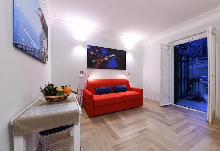 Angela House, Amalfi, Căn hộ Superior, 1 phòng ngủ, Hiên, Quang cảnh đồi núi, Phòng khách