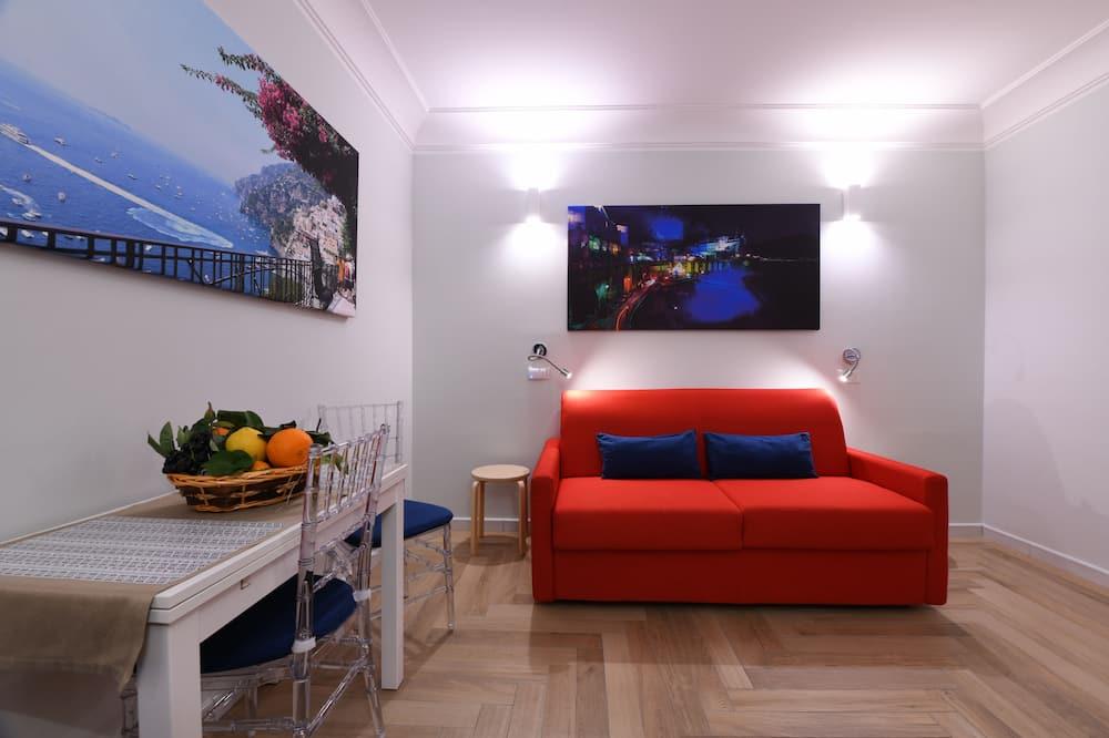 Superior Apart Daire, 1 Yatak Odası, Teras, Tepe Manzaralı - Oturma Alanı