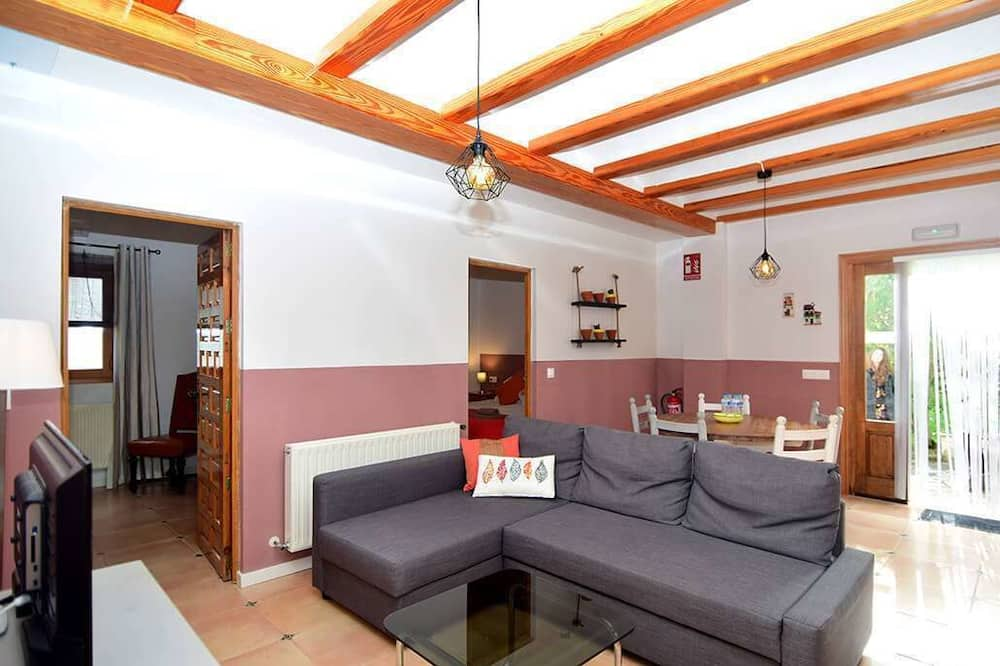 Appartamento, 2 camere da letto, vista giardino - Area soggiorno