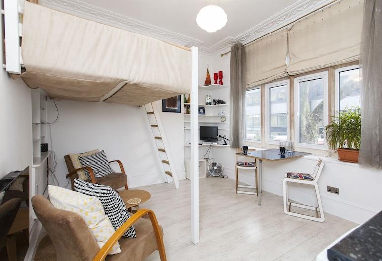 萊斯特廣場氛圍酒店, 倫敦, 開放式客房, 1 張標準雙人床, 客廳