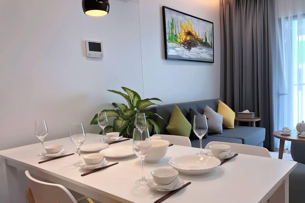 商務公寓, 1 間臥室, 山谷景 - 客廳