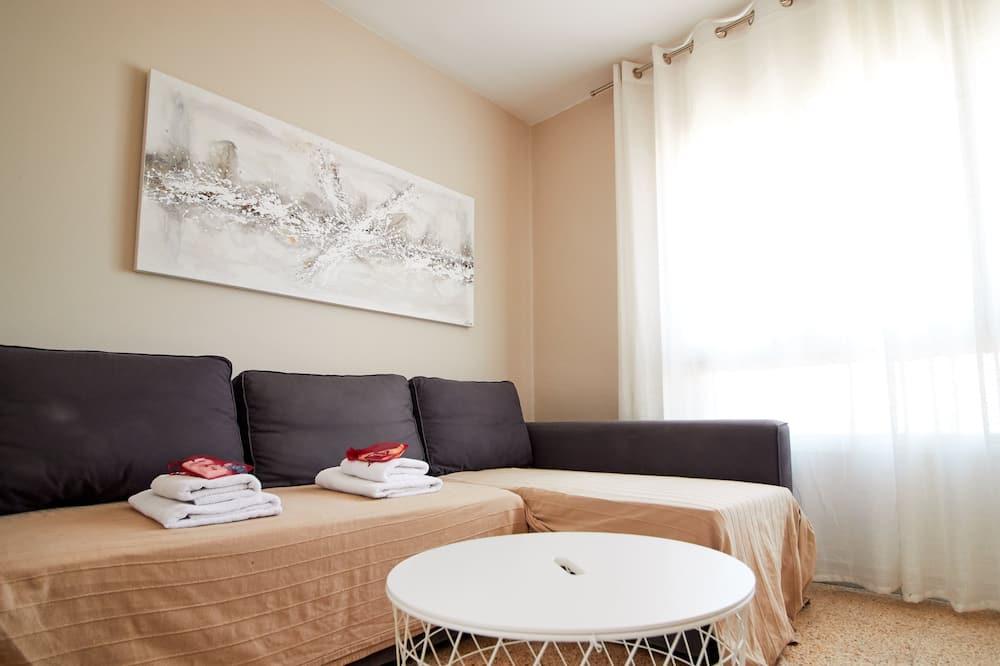 Apartemen, 4 kamar tidur - Ruang Keluarga