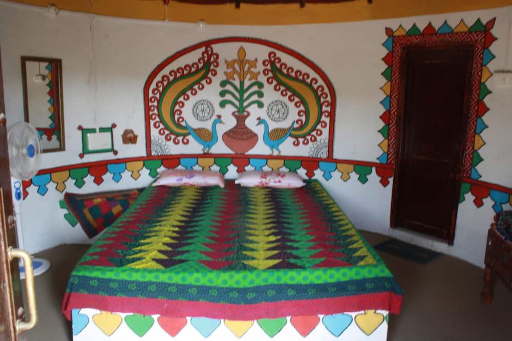 غرفة ديلوكس مزدوجة - سرير مزدوج - لغير المدخنين - غرفة نزلاء