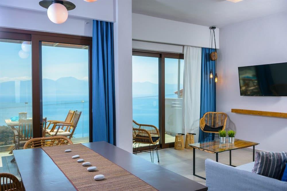 Villa, 2 Bedrooms (Anemoni) - Living Area