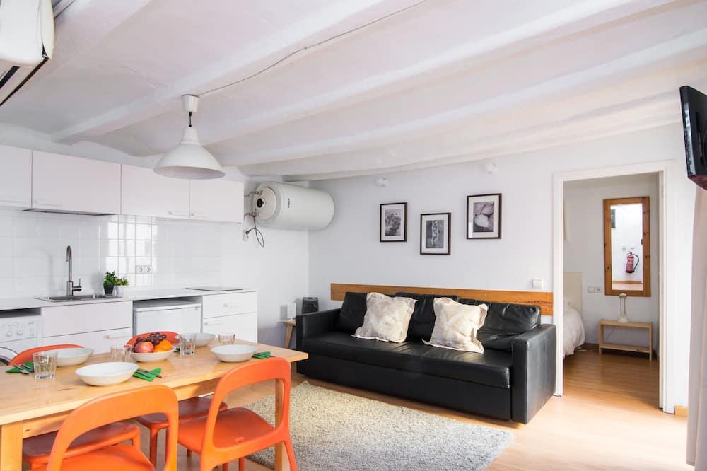 Apartment, 1 Bedroom (Museu Picasso 3) - Living Area
