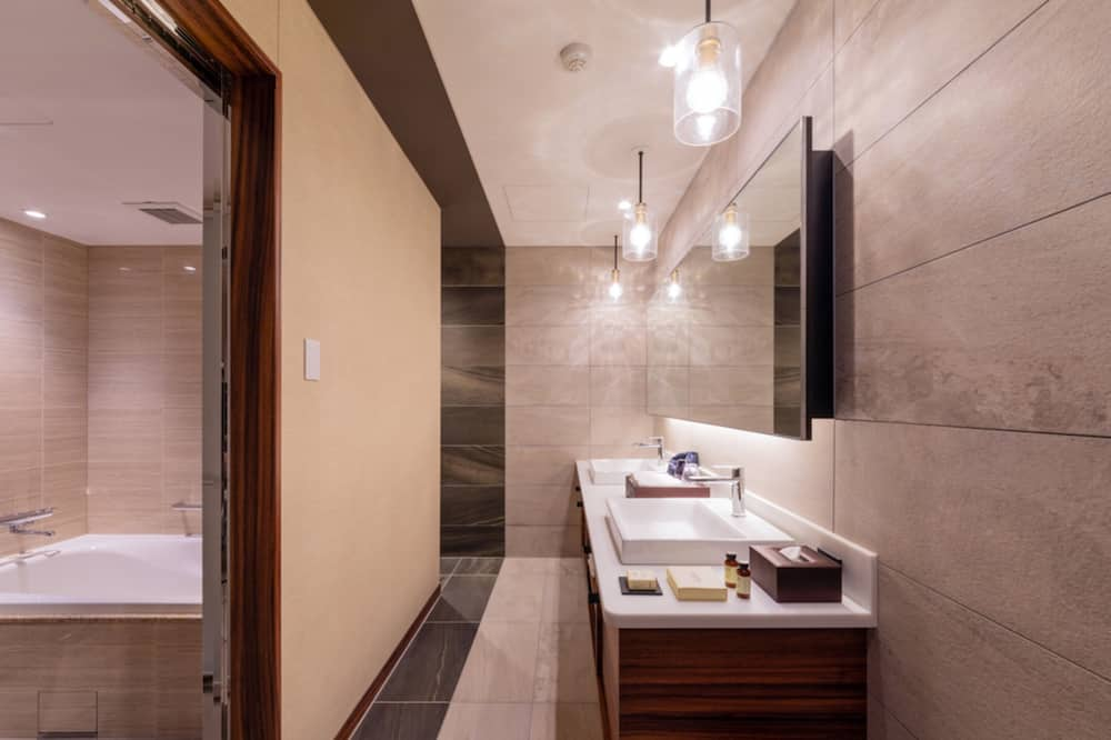 Chambre Luxe, non-fumeurs (MODE TWIN) - Salle de bain