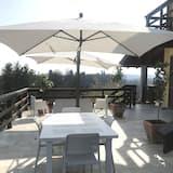Habitación romántica, vistas al jardín - Terraza o patio