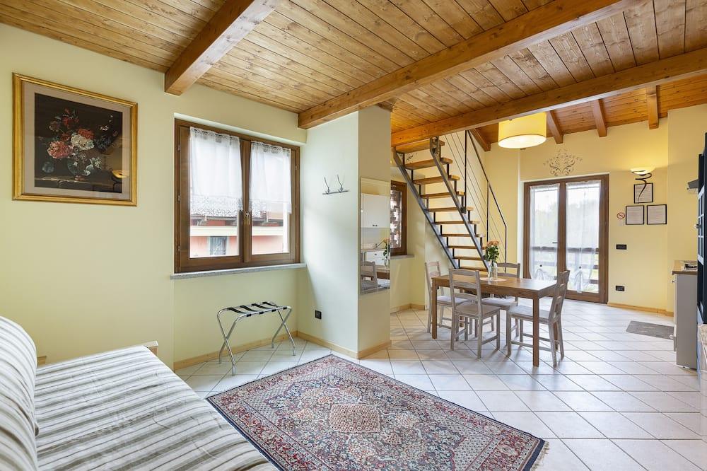 Loft Confort, vistas al jardín - Zona de estar