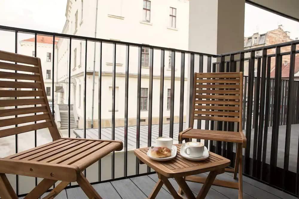 Apartament Grey - Parveke