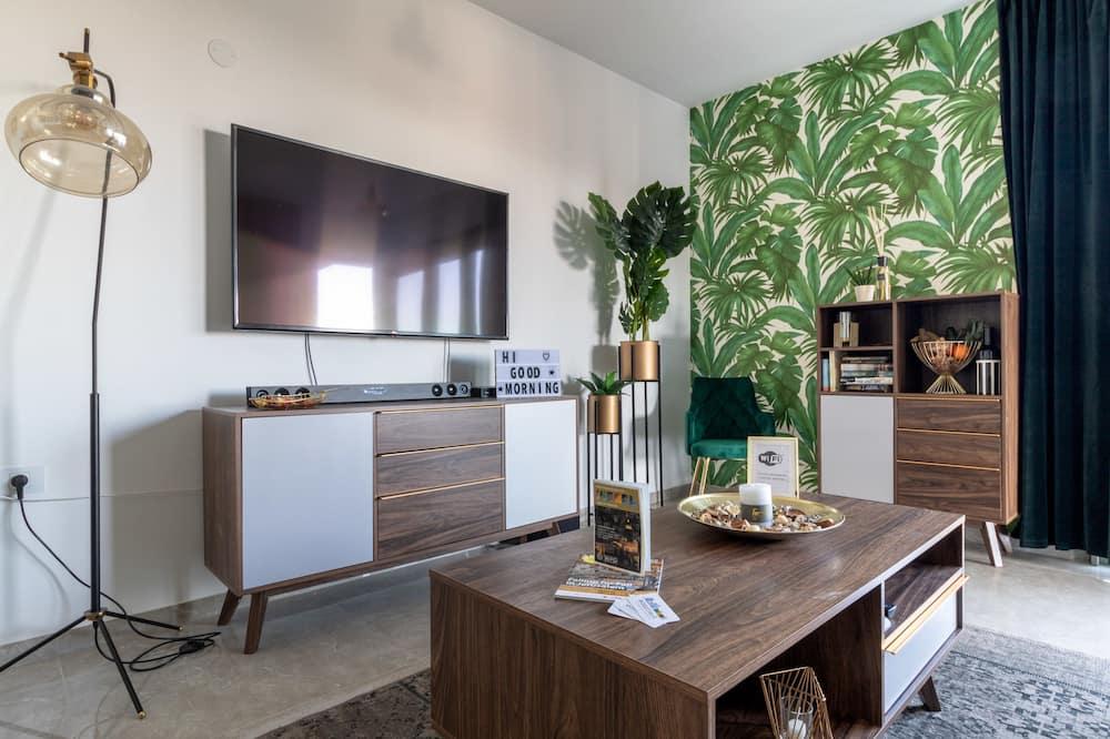 Deluxe Apartment, 2 Bedrooms, Non Smoking - Ruang Tamu