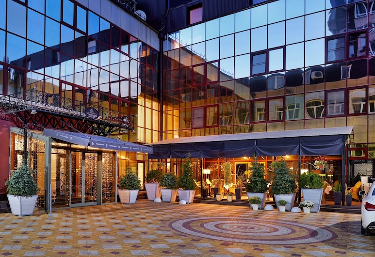Hotel Residence, Rostow am Don, Hoteleingang
