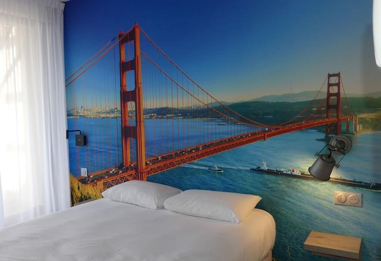Break Hotel, Vierzon, Dvokrevetna soba, 1 bračni krevet, Soba za goste