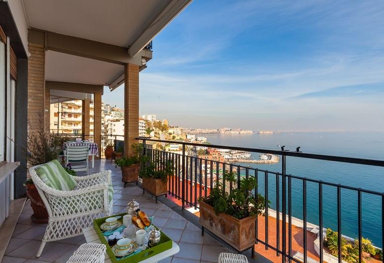 完美波西里波景觀公寓酒店, 那不勒斯, 套房, 2 間臥室, 露台