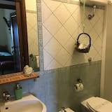 Chambre Double, vue vallée - Salle de bain