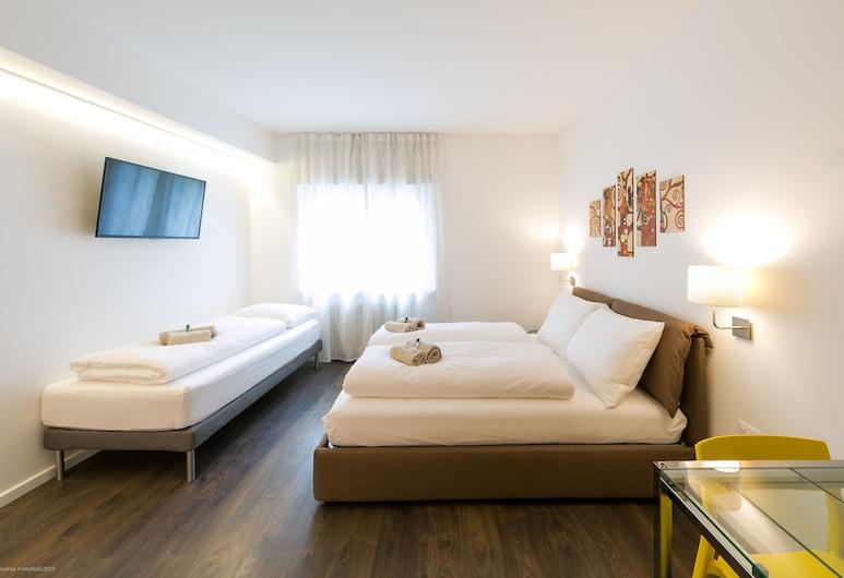 Apartment Diamond, Bolzano, Apartamento Empresarial, Não-fumadores, Vista Cidade (Orange), Quarto