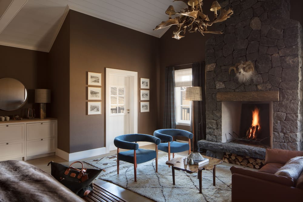 Grettir - Master Suite - Sala de estar