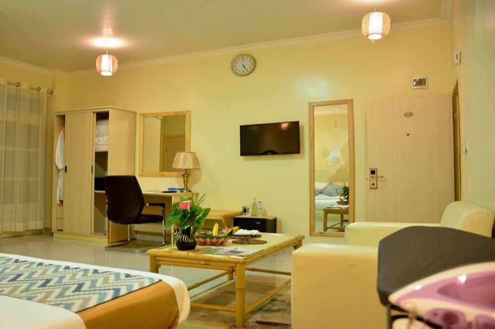 Deluxe Family Room, Balcony - Powierzchnia mieszkalna
