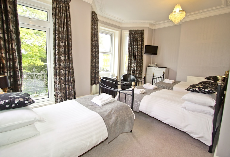 Hedley Hotel, Bournemouth, Family Room, Sea View, Guest Room