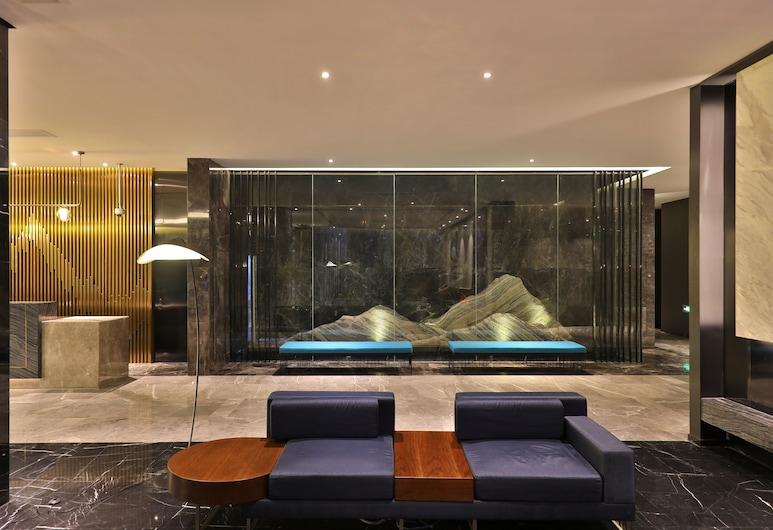 Orange Hotel Select (Shanghai Pudong Airport Hotel), Shanghai, Rezeption