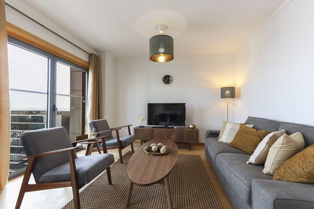 Apartament, 2 sypialnie, widok na morze - Powierzchnia mieszkalna