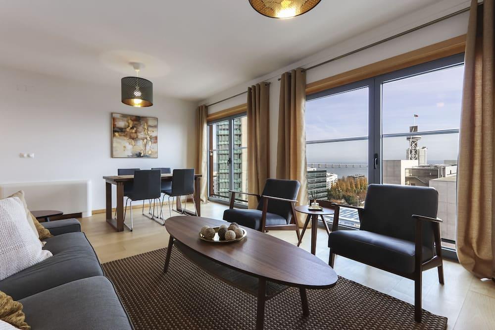 Apartament, 2 sypialnie, widok na morze - Zdjęcie opisywane