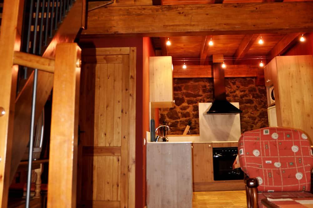 Апартаменты, 2 спальни (Margarida de Prades) - Гостиная