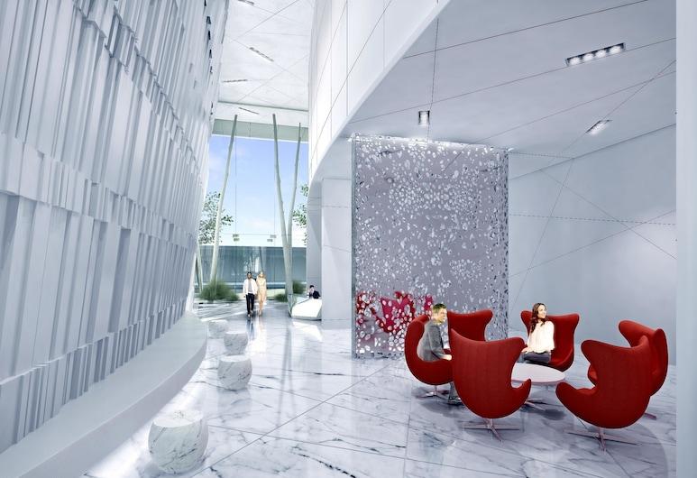 New! Serenity Stay With Lakeshore View. 50+ Floor, Toronto, Zitruimte lobby