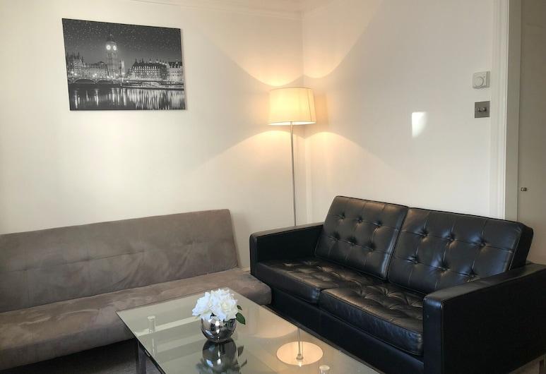 Luxury Stay Bond Street, Λονδίνο, Premium Διαμέρισμα, Μπάνιο στο δωμάτιο (2 bedroom apartments), Lounge
