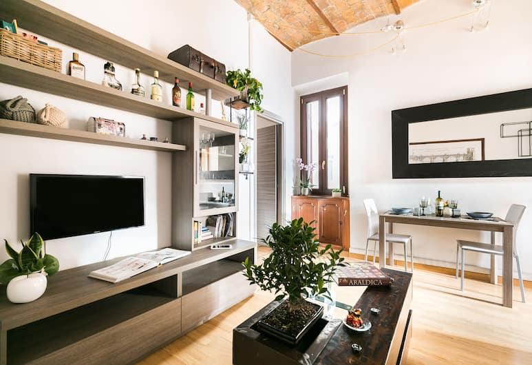 Homehouse Rome, Roma, Appartamento, 1 camera da letto (Homehouse Borgo Pio), Area soggiorno