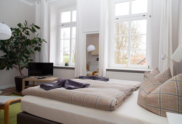 Schönhagener Mühle, פריצווק, חדר סטנדרט זוגי או טווין, חדר רחצה פרטי, חדר אורחים